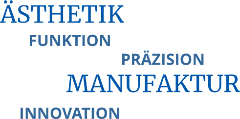 MANUFAKTUR ÄSTHETIK FUNKTION PRÄZISION INNOVATION
